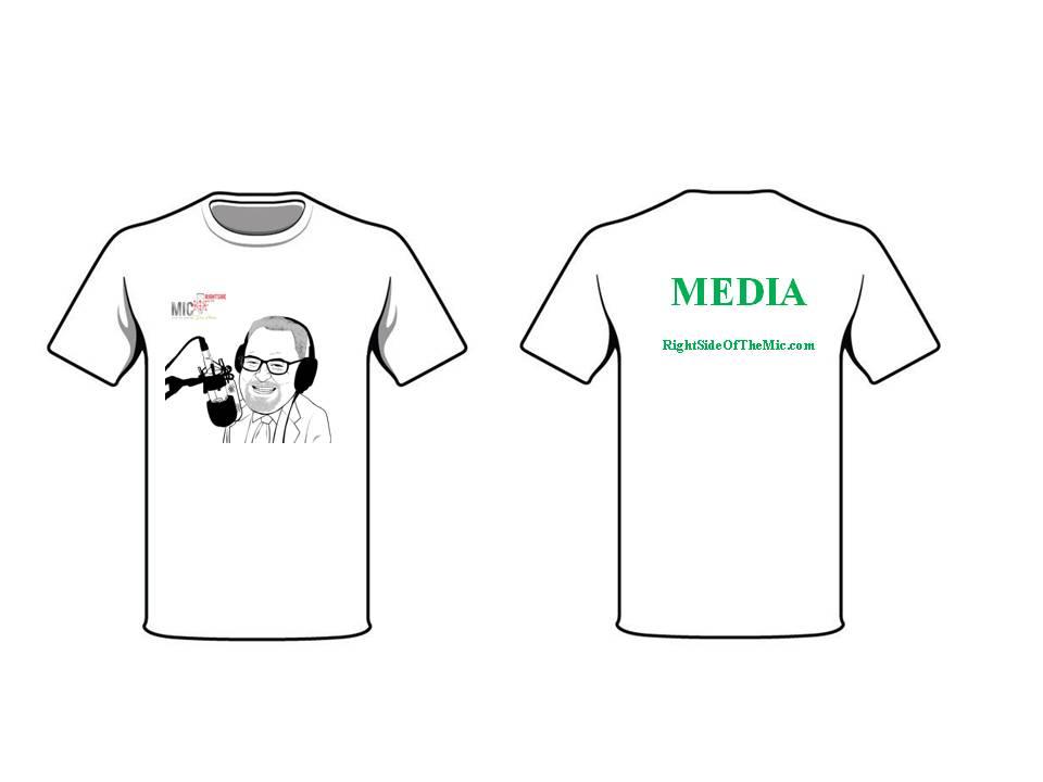 Format - Media T-shirt